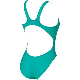 arena Solid Swim Tech High Maillot de bain une pièce Femme, persian green-aphrodite